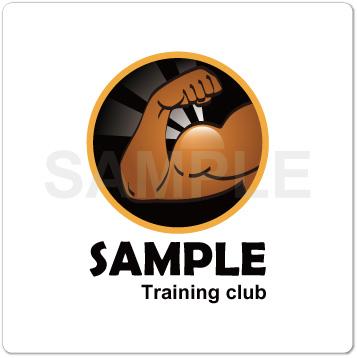 ロゴ トレーニングジム