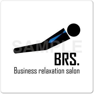 ロゴ リラクゼーション マッサージ ビジネス