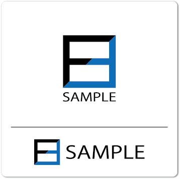 ロゴ F(アルファベット)シンプル