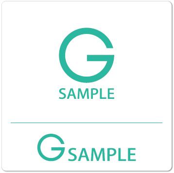 ロゴ G(アルファベット)シンプル