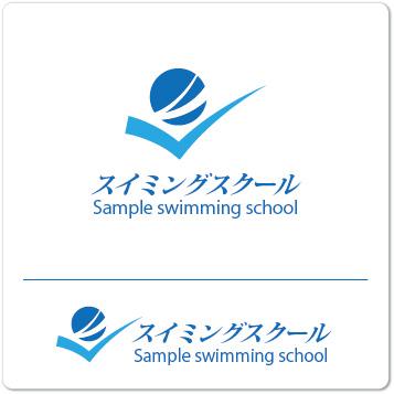 ロゴ スイミングスクール
