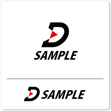 ロゴ D(アルファベット)シンプル